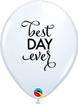 Simply Best Day Ever Latex Balloons | Free Delivery Available